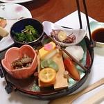 寿司割烹粋里 - 八寸・奥は焼き物