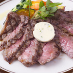 Green Cafe - 黒毛和牛のステーキ