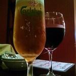 26433025 - カールスバーグ&グラス赤ワイン