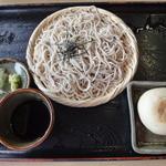 レストラン 大王 - わさび菜おやきそばセット
