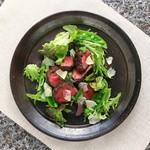 スクラッチ - 牛ひれ肉のタリアータ