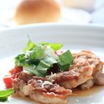 スクラッチ - 鶏腿肉のロースト
