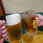 新萬丸亭 - 乾杯〜♪