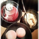 温野菜 - デザート3種