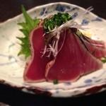 SOBA DINING 空楽 - 料理写真:カツオのタタキ