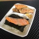 26436096 - のり銀鮭弁当 460円☆(第三回投稿分①)
