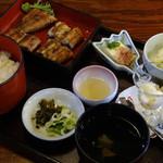 菊菱 - 2014/04/06再訪 塩焼定食2100円
