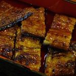 菊菱 - 2014/04/06再訪 上蒲焼の鰻は6切れです