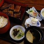 菊菱 - 2014/04/06再訪 上蒲焼定食2800円
