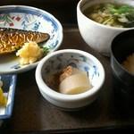 26436808 - 焼き鯖定食(日替り)
