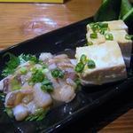 はっぴぃあわー - たこわさ 豆腐の味噌漬け