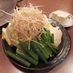 朝日家 - 野菜セット(ホルモン鍋セット)