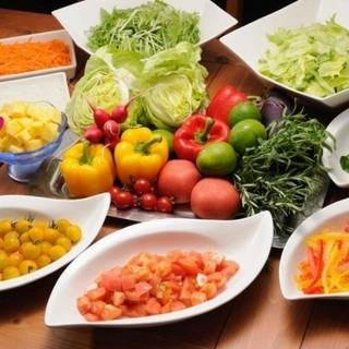 野菜をたっぷり食べたい方!
