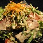 龍 - 生ハムのサラダ