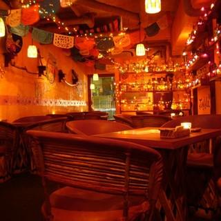 メキシコのレストラン
