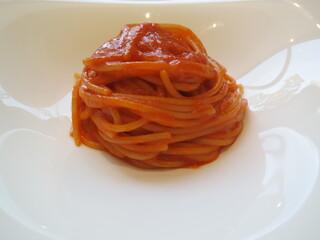 クイントカント - サルサ・ポモロード60g☆油使いなしのシンプルトマトソーススパゲッティ☆