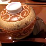 日本料理 桜楽 - <4月夜肉魚>鯛の白子の茶わん蒸し