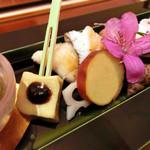 日本料理 桜楽 - <4月夜魚>あぶらめのわかさ焼き