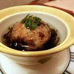 日本料理 桜楽 - <4月夜魚>竹の子まんじゅう