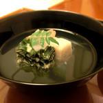 日本料理 桜楽 - <4月夜肉魚>はまぐりしんじょう