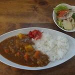 ウッディベア - 野菜カレー 580円