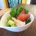 カモガワラボ - サラダ。