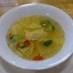26443454 - 【2014年02月】セットの野菜スープ。