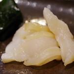 鮨 福元 - 水松貝 伊良湖