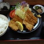 とんかつ石浜 - 料理写真:ヒレカツ定食 1200円