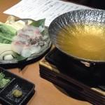 Shubouuoman - 鯛しゃぶ(1,380円)。これはなかなか豪勢でうまいね。