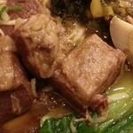 銀座 赤ちょうちん - 牛肉麺 2014.4