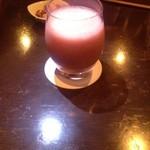 Bar 織田 - イチゴのカクテル