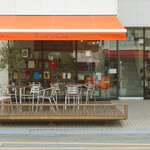 cafe de MeiPAM - ウッドデッキでゆったり
