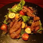 ル・アイ - 牛タンのサラダ