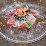 26447500 - 桜鯛のカルパッチョ
