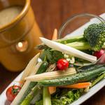 エンジェルフェイク - 季節の野菜のバーニャカウダ