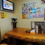 竹乃家 - 2014年4月13日(日) 大きなテーブルの席・小上がり・座敷もあります