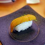 かっぱ寿司 - うに一本葉~☆