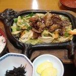 2645941 - 「奥州牛の牛カルビ定食(800円)」