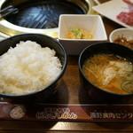 遠野食肉センター レストラン - 定食のセット