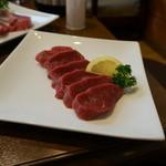 遠野食肉センター レストラン - 生ラムショートロイン