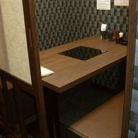 個室テーブル席