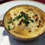 リバージュ イソヤマ - 野菜のグラタンスープ