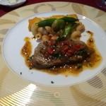 リバージュ イソヤマ - 黒毛牛サーロインステーキ