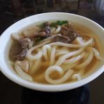 京柱茶屋 - 名物・しし肉うどん