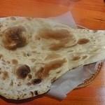 インドキッチン - Aランチ プレーンナン