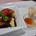 桂林 - B定食2000円 酢豚とシューマイ、海老餃子