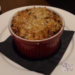 オランジェ - 「ブルーチーズとマカロニのオーブン焼き」820円