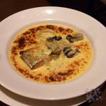 オランジェ - 「サーモンと牡蠣のグラタン」 1,580円
