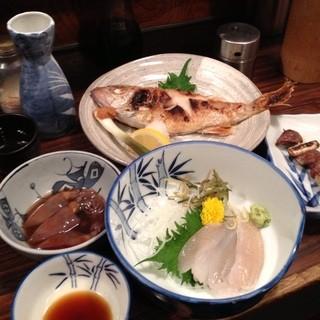 喜ぐち - 喜ぐち@新潟で吉田類似の酒場放浪記。日本海の海の幸を越後杜氏で流し込む。フナベタ刺とのど黒塩焼は最高です。